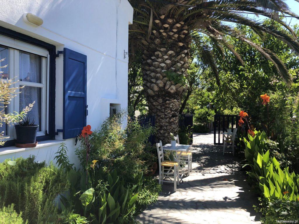 Lesbos, co zobaczyć na Lesbos, Lesbos czy warto, Grecja, wakacje w Grecji, którą grecką wyspę wybrać, plaże na Lesbos, Skala Eresou, Erresos, Villa Poseidon
