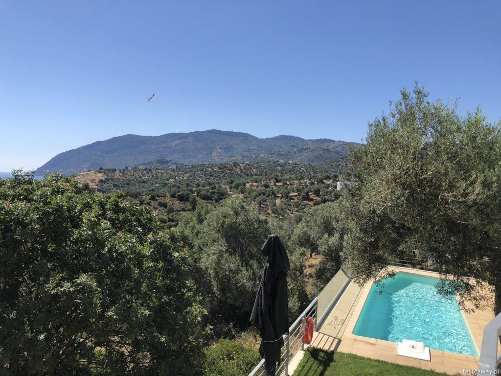 Lesbos, co zobaczyć na Lesbos, Lesbos czy warto, Grecja, wakacje w Grecji, którą grecką wyspę wybrać, plaże na Lesbos, Plomari, Ouzo Villas
