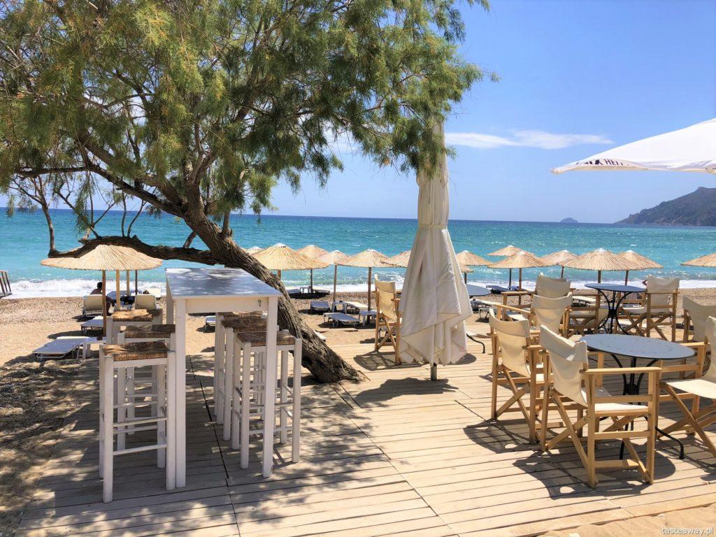 Chios, co zobaczyć na Chios, greckie wyspy, którą grecką wyspę wybrać, Grecja, Komi Beach