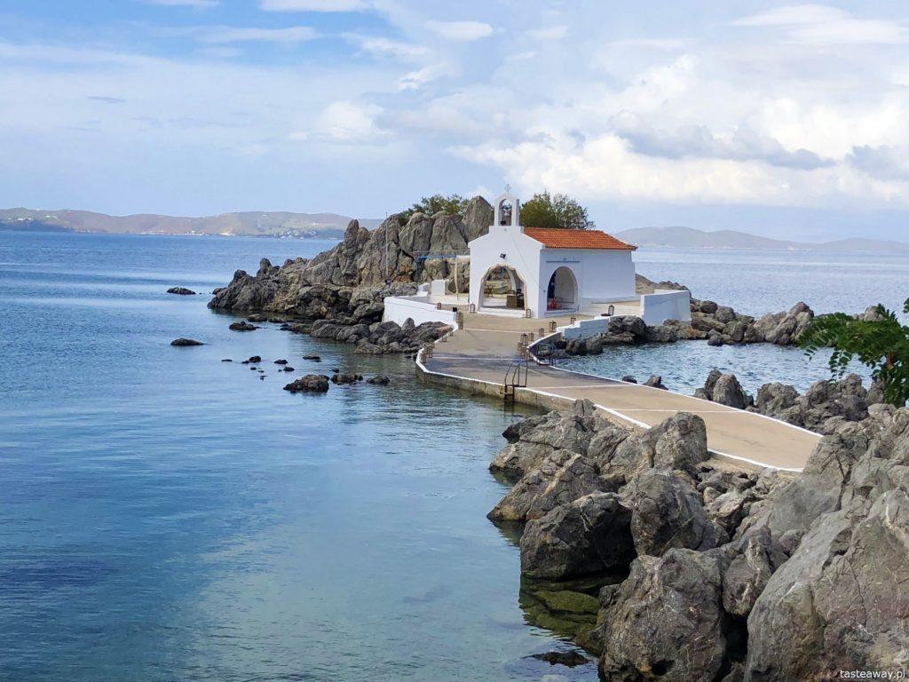 Chios, co zobaczyć na Chios, greckie wyspy, którą grecką wyspę wybrać, Grecja, Agios Isidoros, kapliczka Agios Isidoros