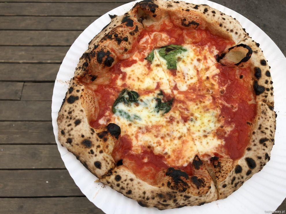 pizza, gdzie na pizzę, pizza w Warszawie, pizza neapolitańska, Dwa Osiem, pizza nad Wisłą, najlepsza pizza w Warszawie, Margherita