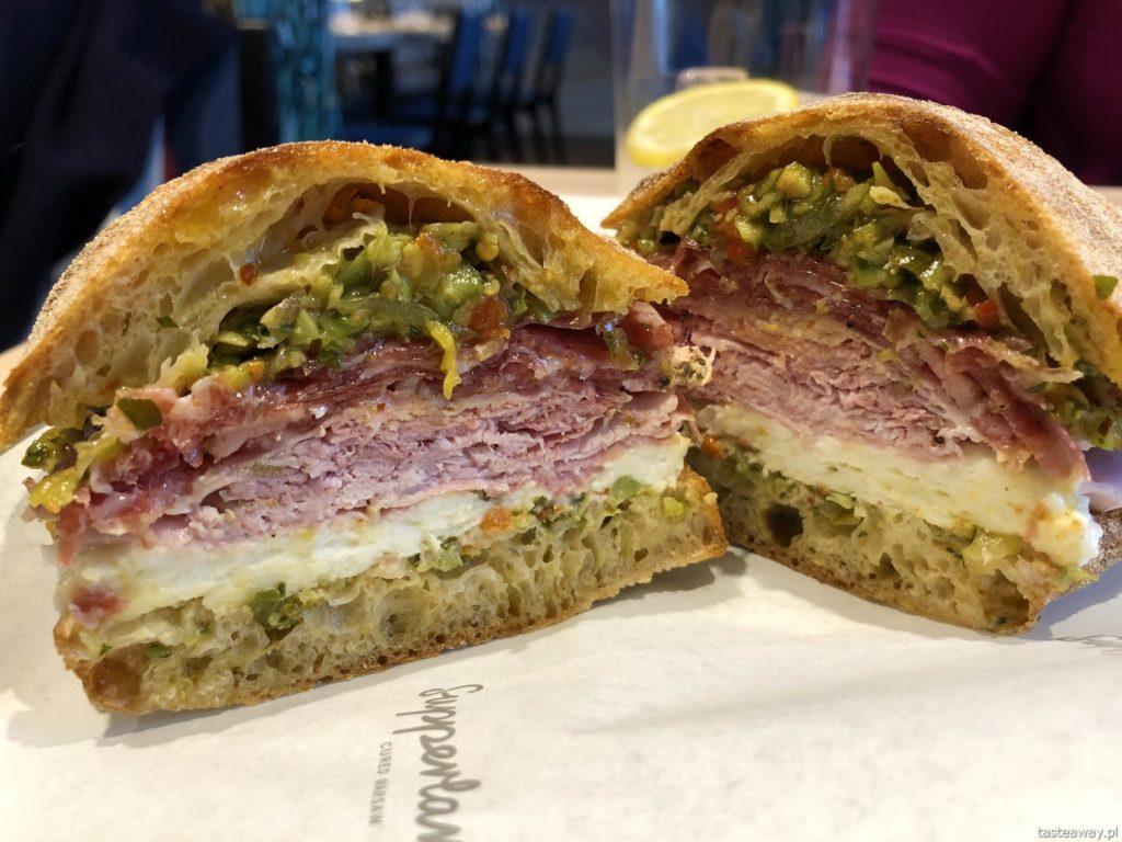 Supperlardo, gdzie na kanapki, gdzie na lunch, porchetta, pieczywo własnego wypieku, wędliny własnej roboty, ciabatta, salami