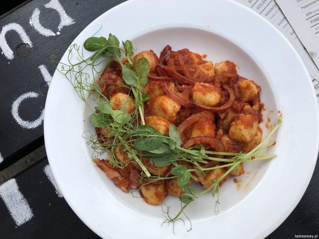 gdzie jeść w Trójmieście, gdzie jeść w Gdańsku, Machina Eats &Beats, najlepsze restauracje w Gdańsku, Malika, gnocchi,