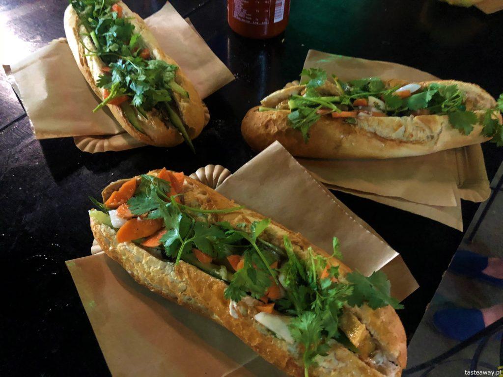 gdzie zjeść,street food, Nocny Market, co zjeść na Nocnym Markecie, banh mi