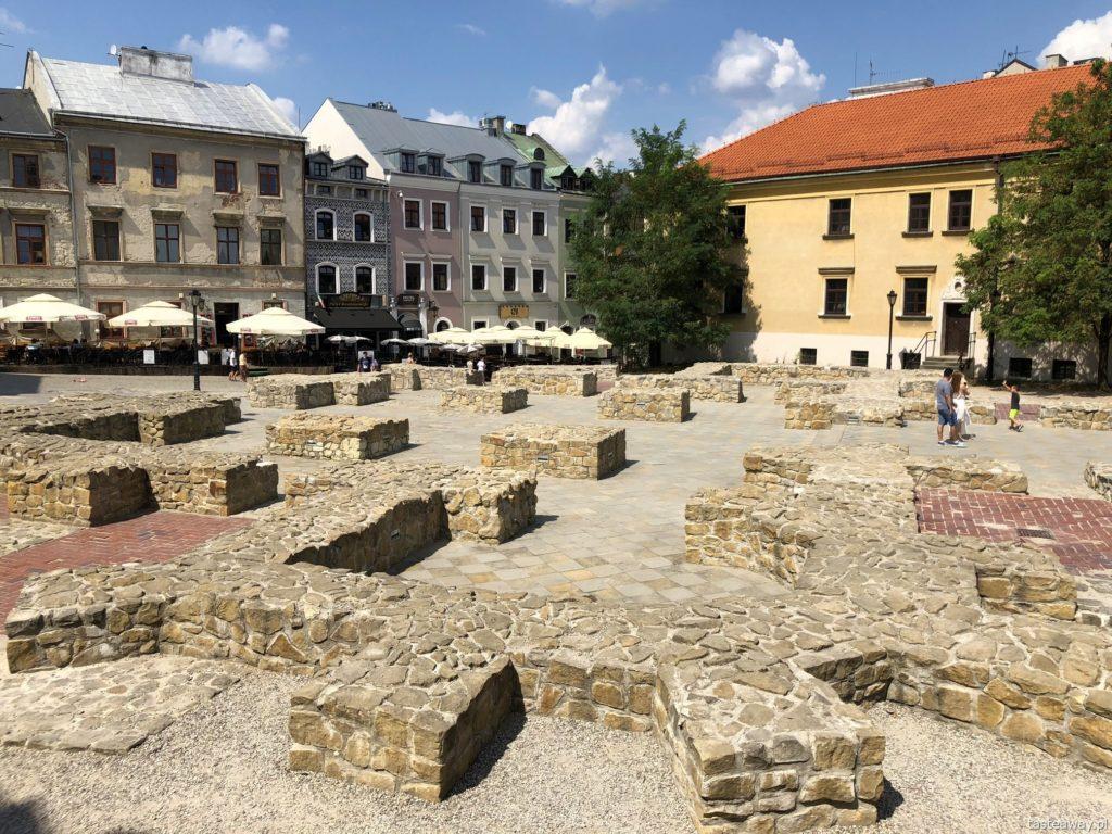 Lublin, weekend w Lublinie, co zobaczyć w Lublinie, starówka w Lublinie, stare miasto w Lublinie, kościół farny w Lublinie, pozostałości Kościoła Farnego w Lublinie