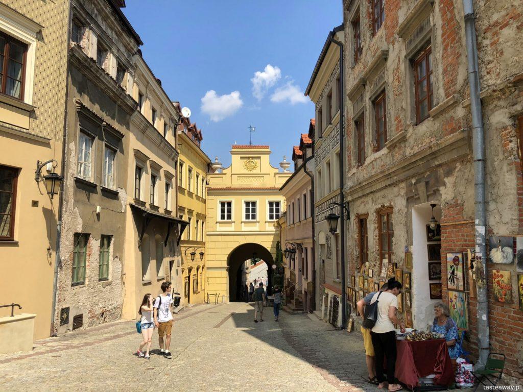 Lublin, weekend w Lublinie, co zobaczyć w Lublinie, starówka w Lublinie, stare miasto w Lublinie, Brama Grodzka