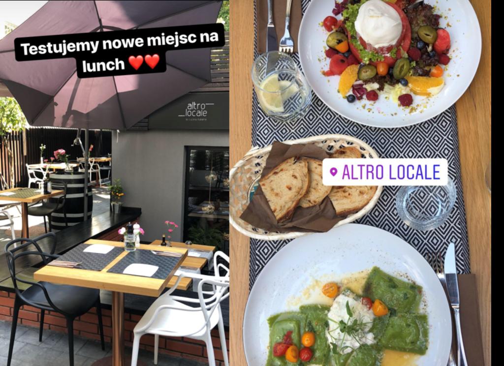 gdzie zjeść, gdzie na lunch, Mokotów, kuchnia włoska, Altro Locale