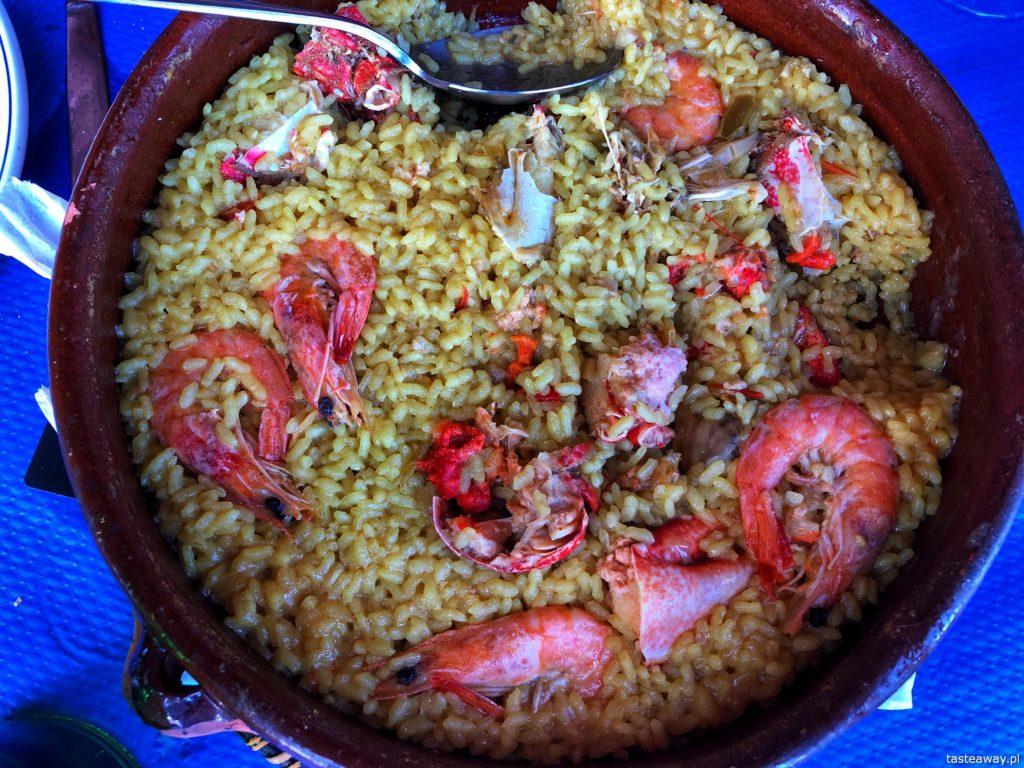 co jeść na północy Hiszpanii, co jeść w Asturias, co jeść w Galicji, mule, mejillones al vapor, kuchnia hiszpańska, tapas, owoce morza, arroz con mariscos