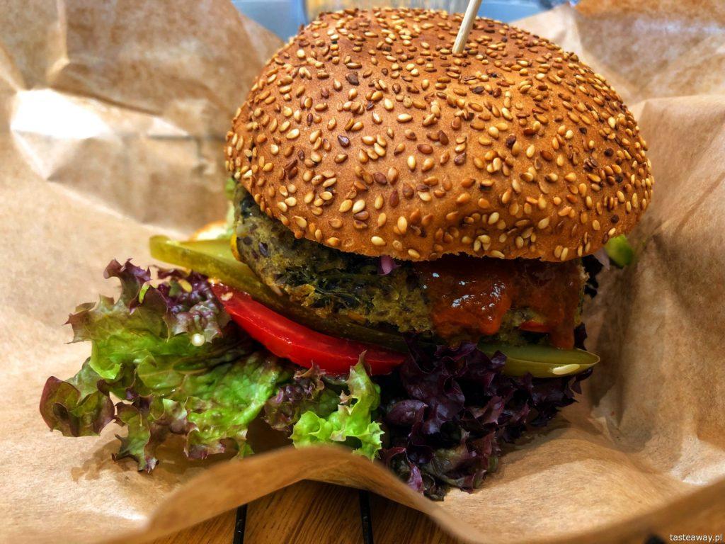 gdzie na lunch, burger, wege burger, Galeria Mokotów