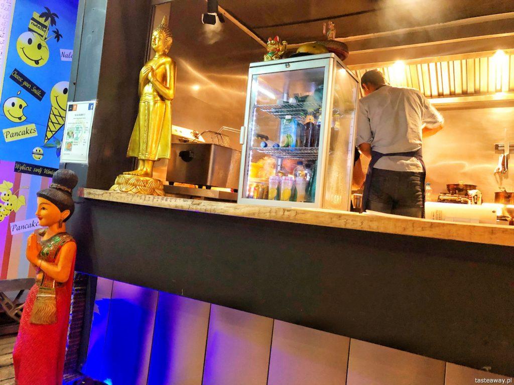 kuchnia tajska, gdzie na tajskie, pad thai, gdzie na pad thaia, Koh Phangan Thai Island