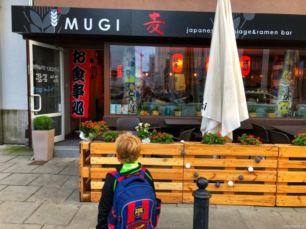 Mugi, japońskie w Warszawie, gdzie na japońskie, Mugi, ramen, gdzie na ramen