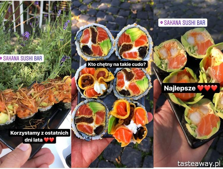 sakana, sushi, gdzie na sushi, Mariusz Melcer