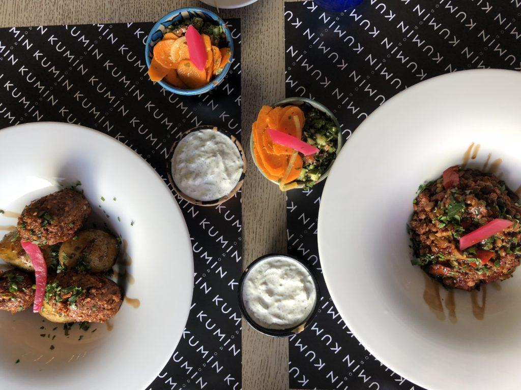 Kumin, kuchnia arabska, kuchnia Bliskiego Wschodu, gdzie na lunch