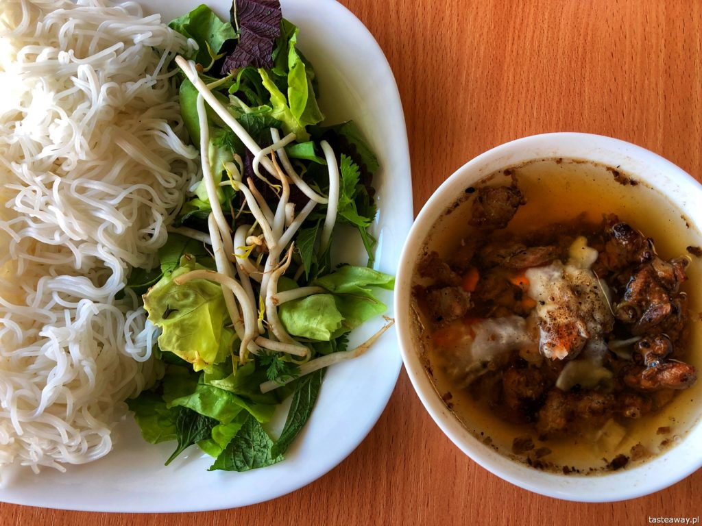 bun cha, wietnamskie, kuchnia wietnamska, Bakalarska