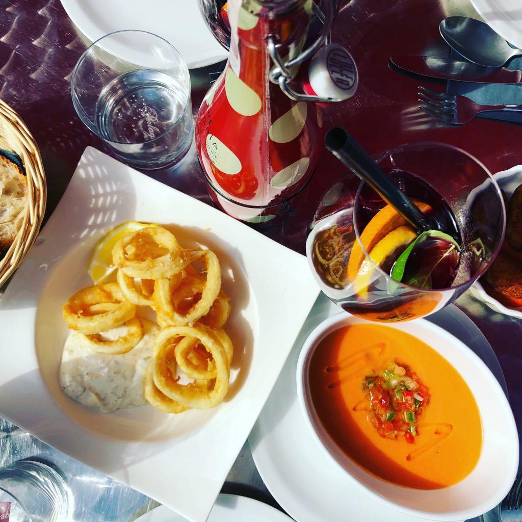gdzie na hiszpańskie, kuchnia hiszpańska w Warszawie, kalmary, gazpacho, tortilla, La Iberica