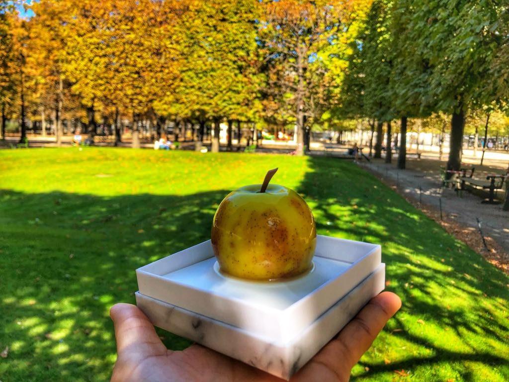 Paryż-15-Cedric Grolet-jabłko-ciastko