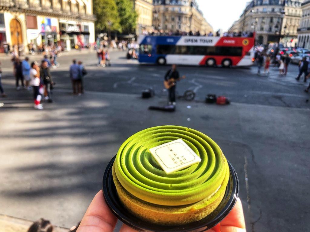 Paryż-24-Sadaharu Aoki-tarta matcha karmel