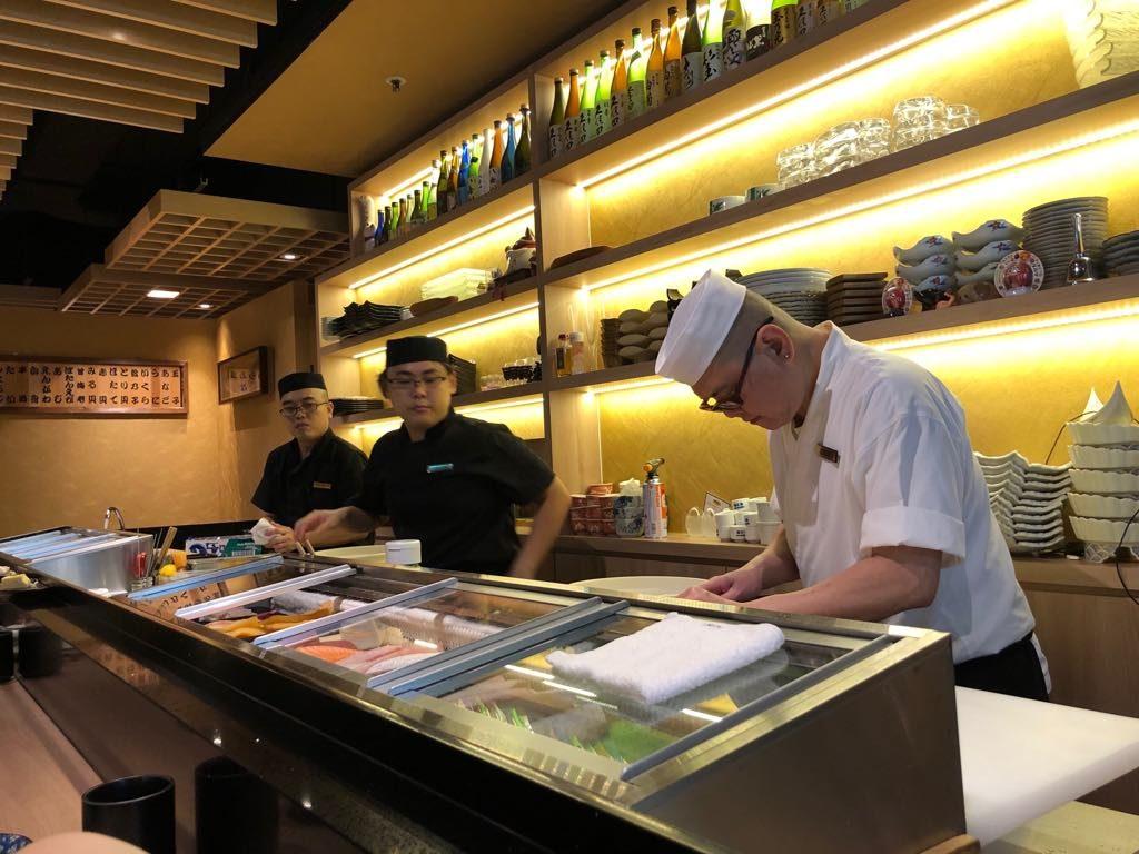Hakumai sushi