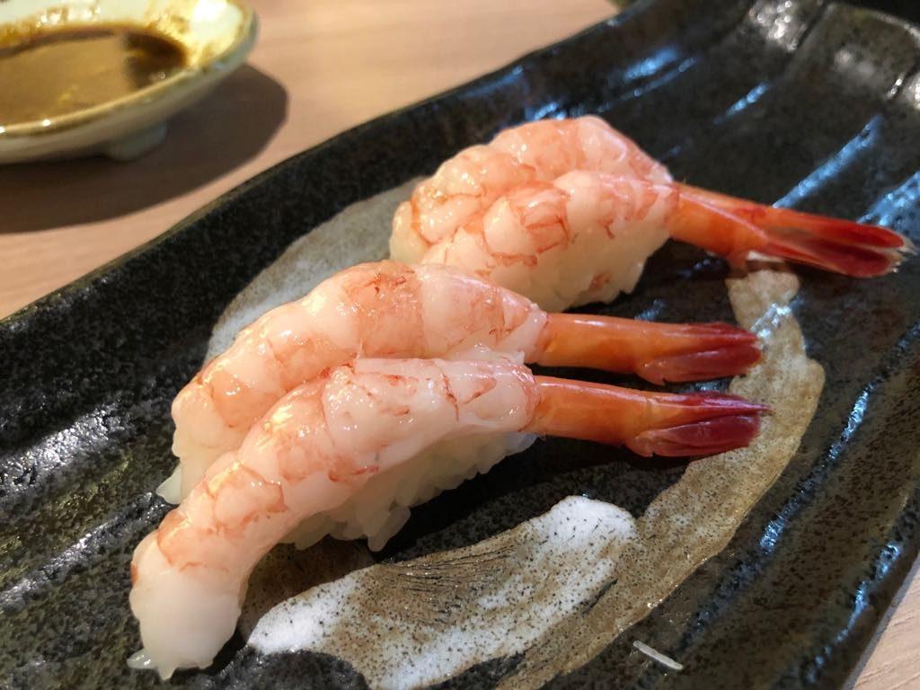 ebi-hakumai sushi-singapur