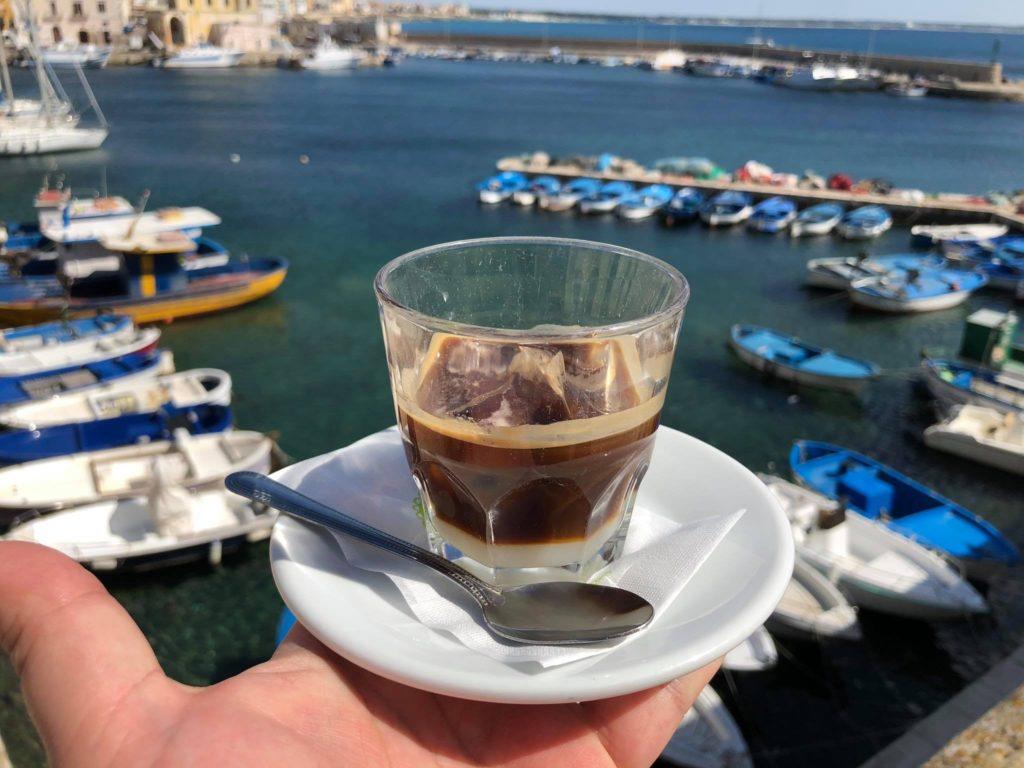 caffe leccese w Gallipoli