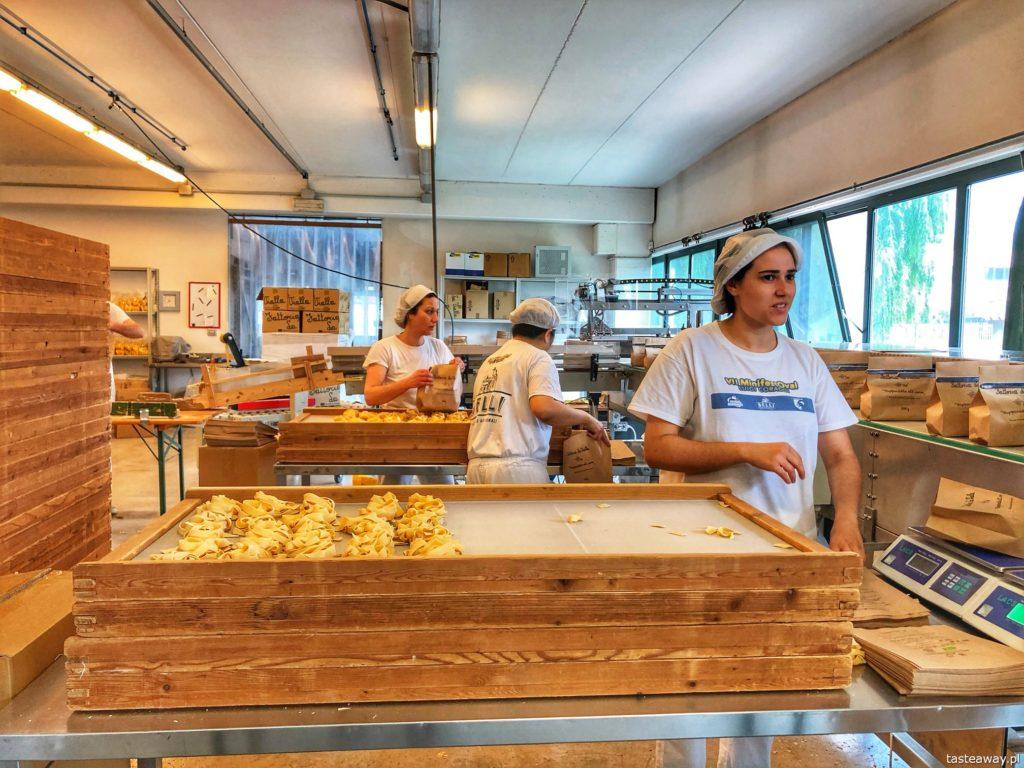 Pastificio Belli-pakowanie makaronu