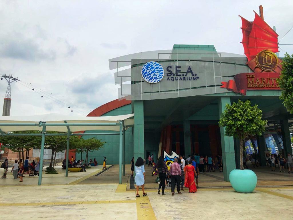 sentosa oceanarium