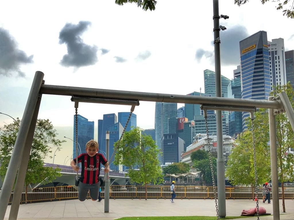 dzieci singapur