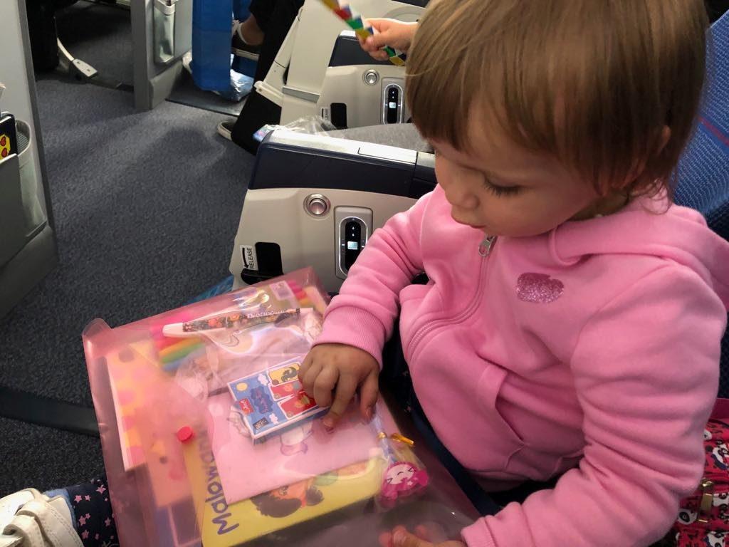 w samolocie niespodzianka