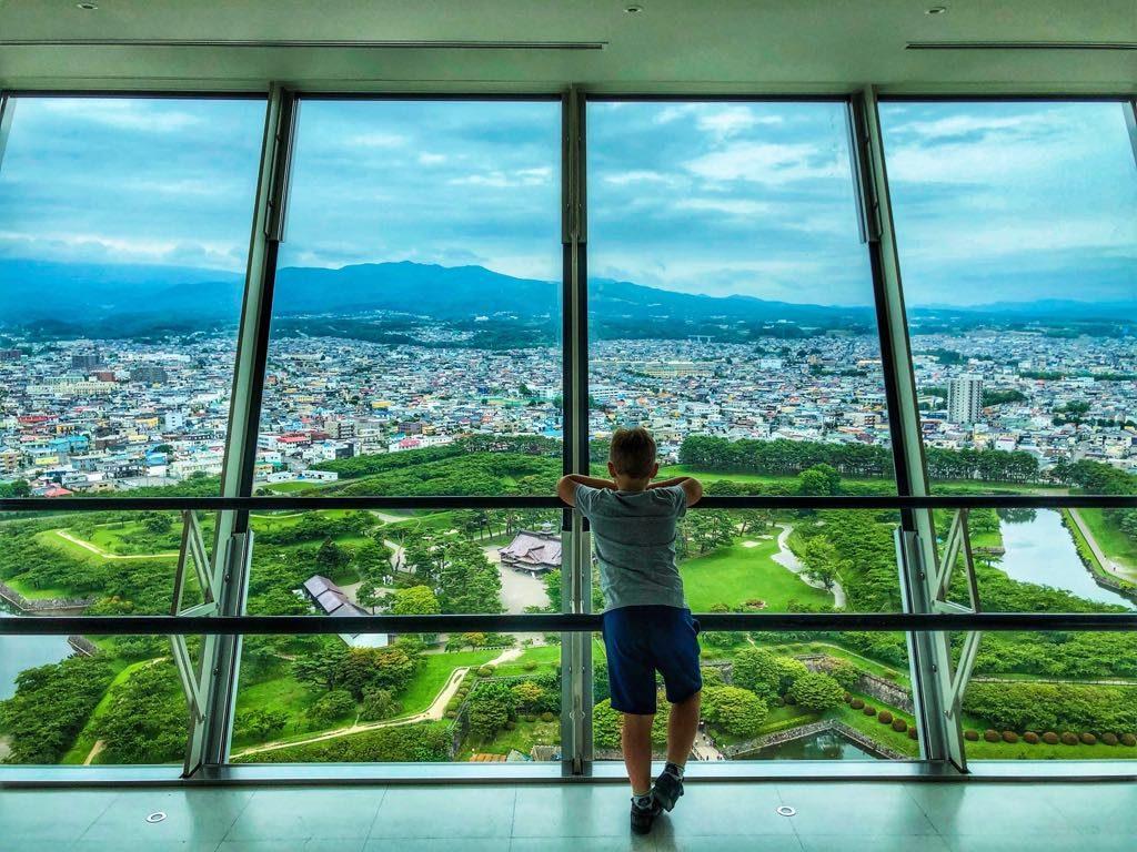 Hakodate-Goryokaku Tower