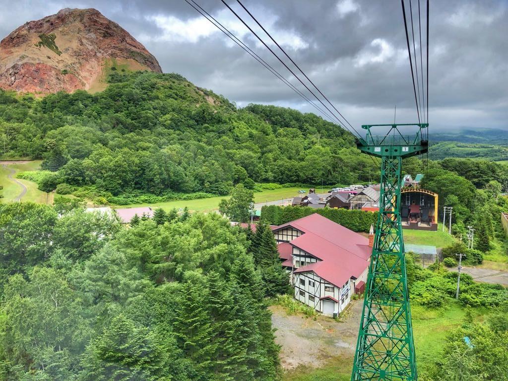 Hokkaido_Usuzan Ropeway i Showa Shinzan