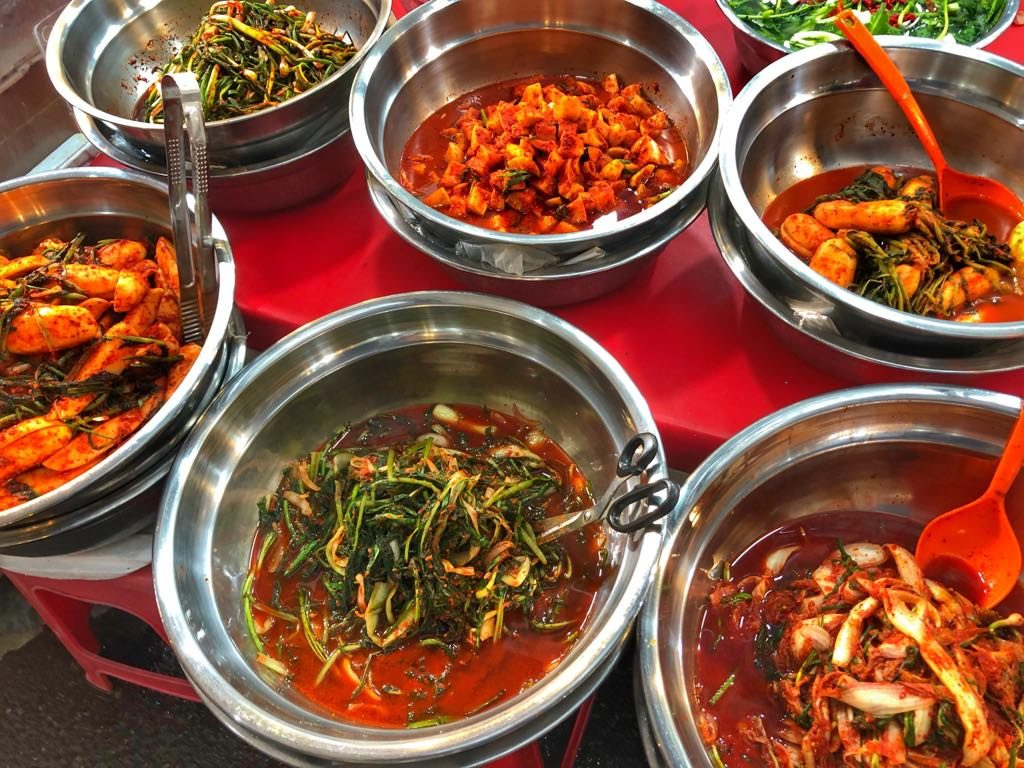 Gwangjang Market-kimchi