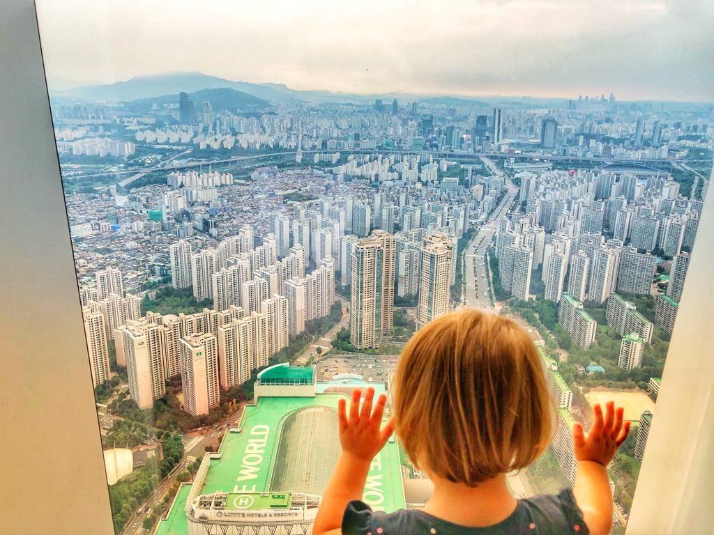 Signiel Seoul-widok
