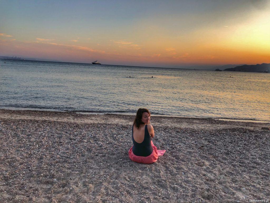 plaża Eilat