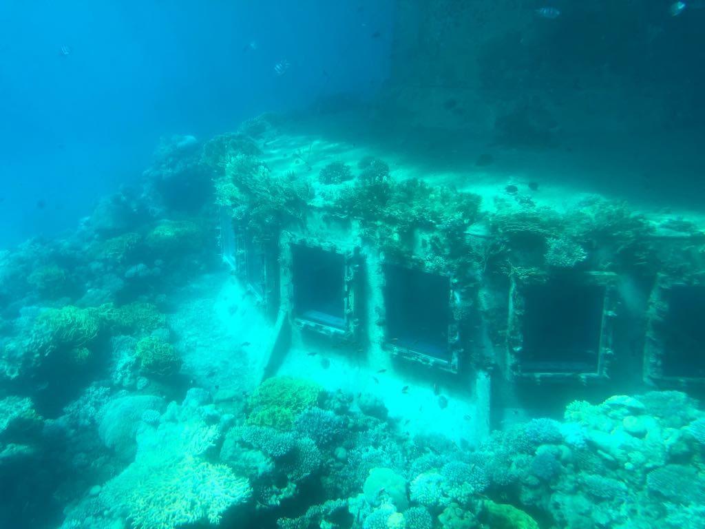 Underwater Observatory-tak to wyglada