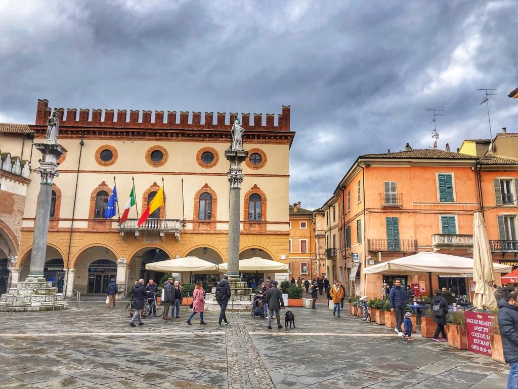Rawenna Piazza del Popolo