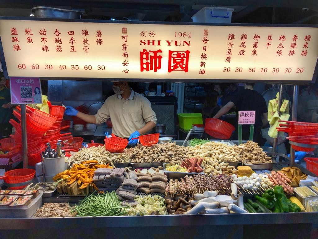 night markets in Taiwan