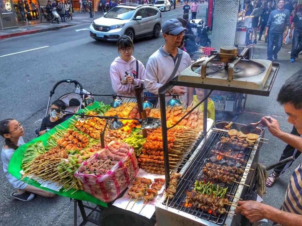 street food w Ximending
