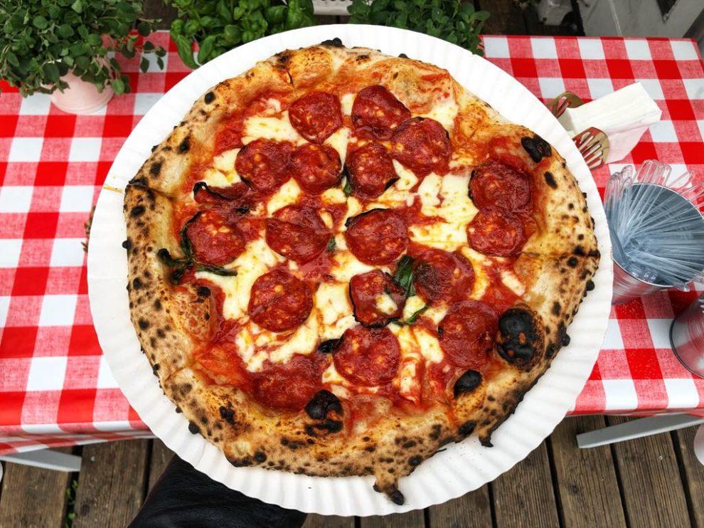 Dwa Osiem, pizza neapolitańska