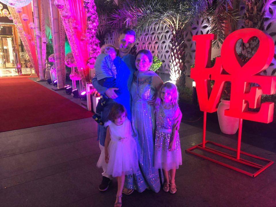 Bangkok_ELa z rodziną