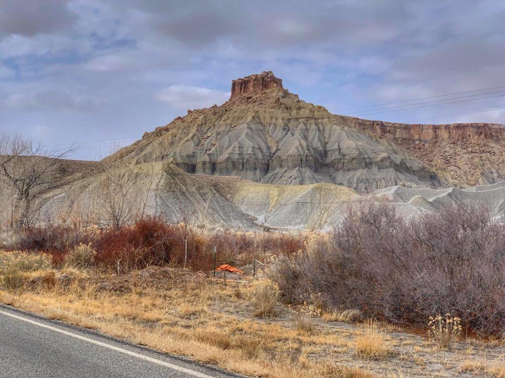 Bezdroża trasa z Moab