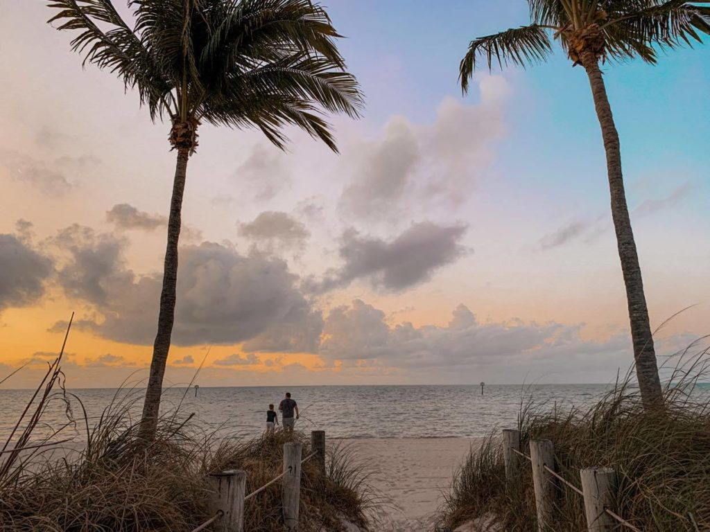 poranek na plaży