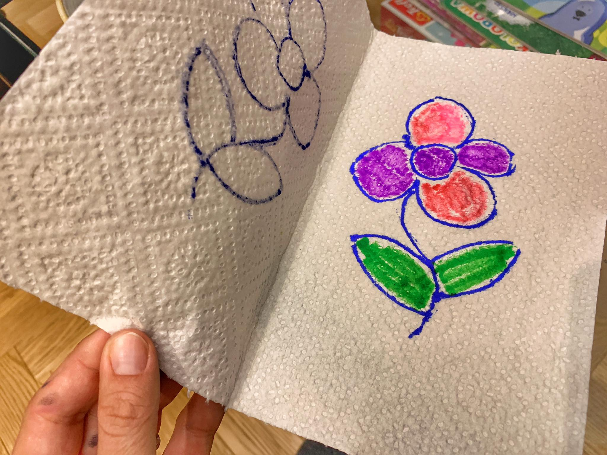 rysujemy kwiaty