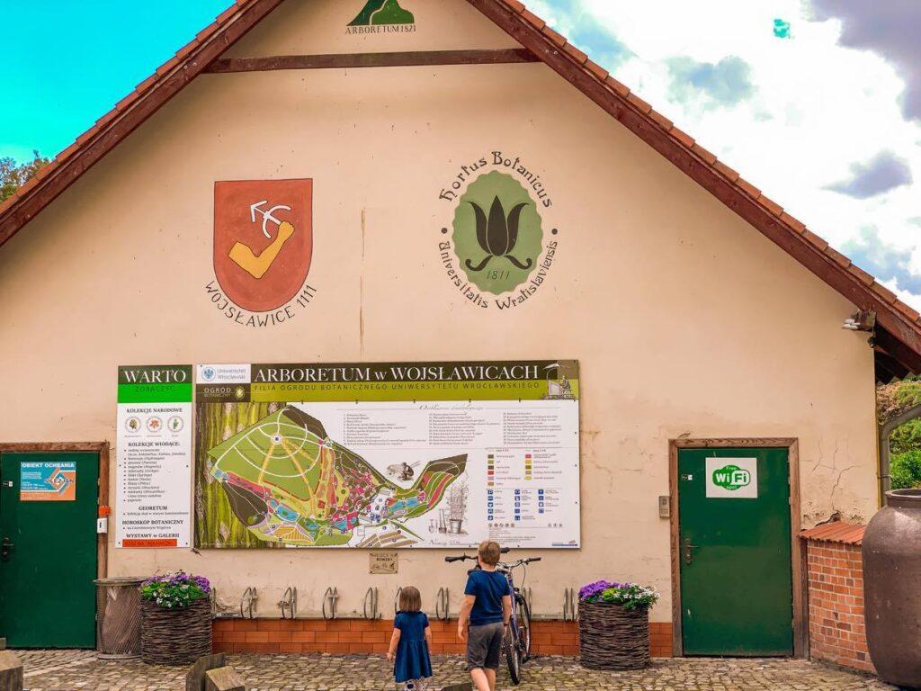 Arboretum Wojsławice_mapa