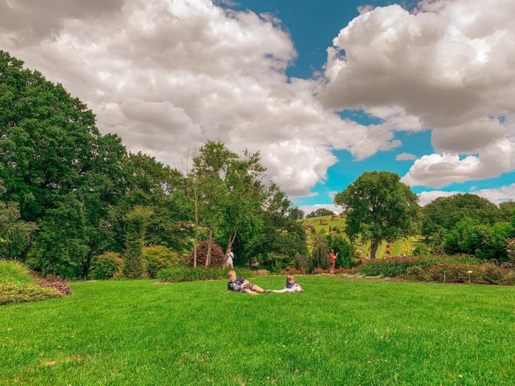 Arboretum Wojsławice_z dziećmi