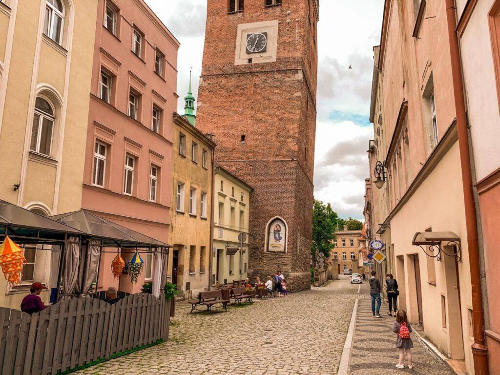 Ząbkowice Śląskie_krzywa wieża