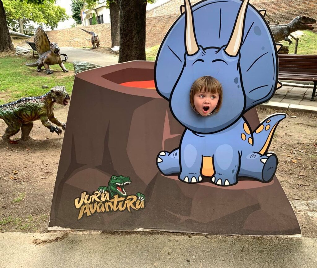 park dinozaurów_Kalemegdan_2