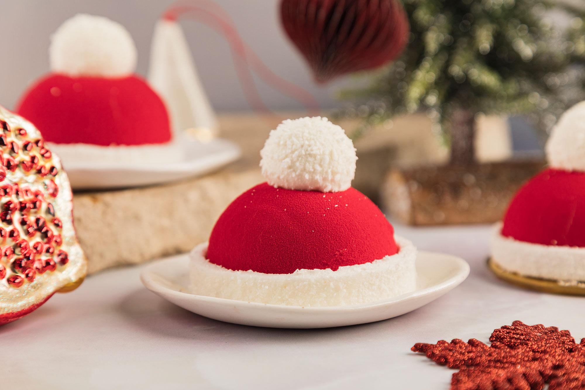 Santa Cap, ciastka DESEO, świąteczna ciastka DESEO