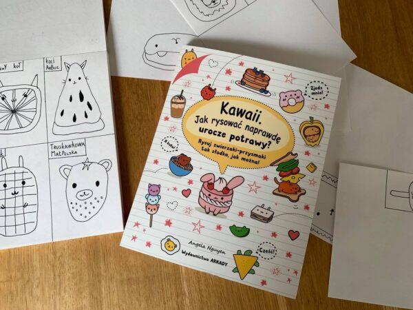 Kawaii_jak rysować naprawdę urocze potrawy_2