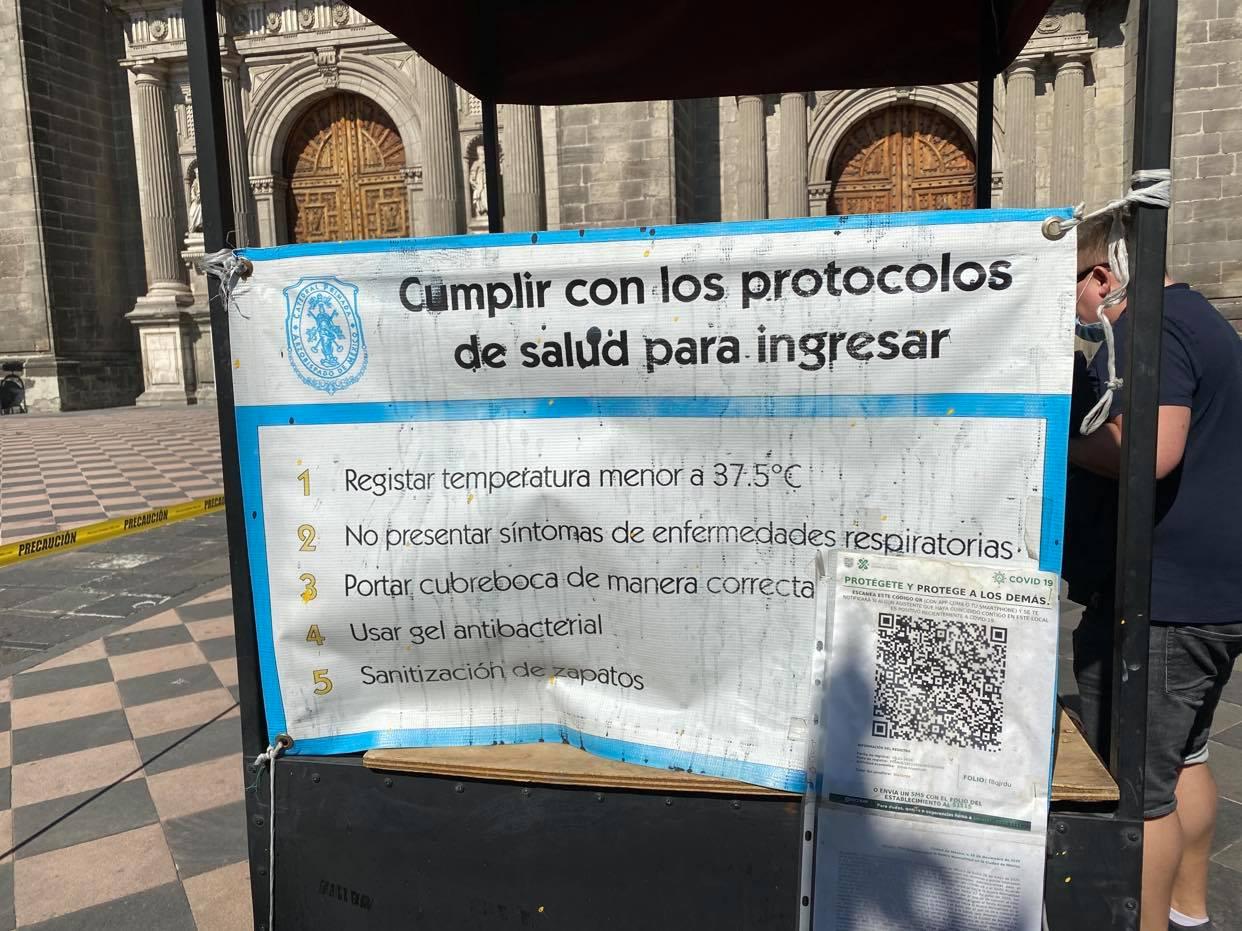 wejście do Catedral przy Zocalo