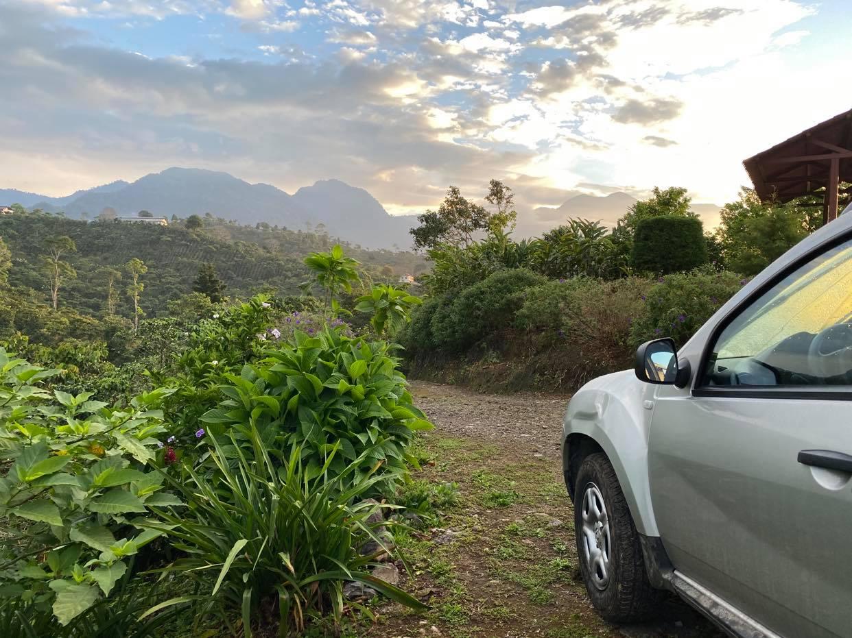 Meksyk samochodem